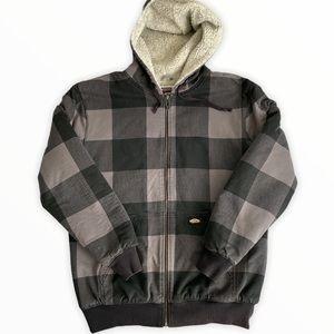 Vans Off The Wall Sherpa Checkered Coat XL